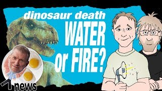 Dinosaur Death: Water or Fire? (feat. Jon Perry of Stated Clearly) - (Ken) Ham & AiG News