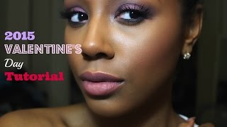 motd not so dramatic smokey eye using bh cosmetics   valentine s day look 2015   makeupbysarahmae