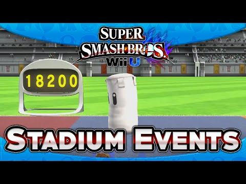 Super Smash Bros. Wii U: First Impressions - Stadium Games (4-Player)