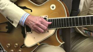 "John Pizzarelli - ""How High the Moon"" (solo) at the Fretboard Journal"