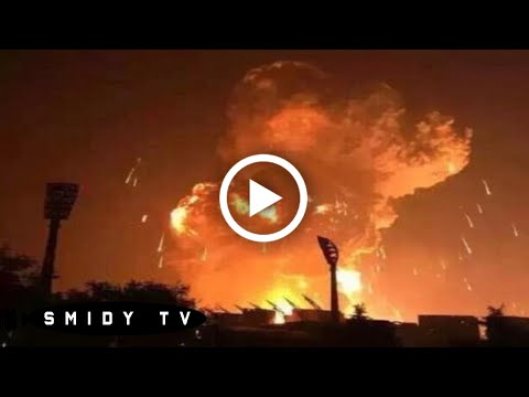 MASSIVE Explosion in China - 21 TONS of TNT [TIANJIN]