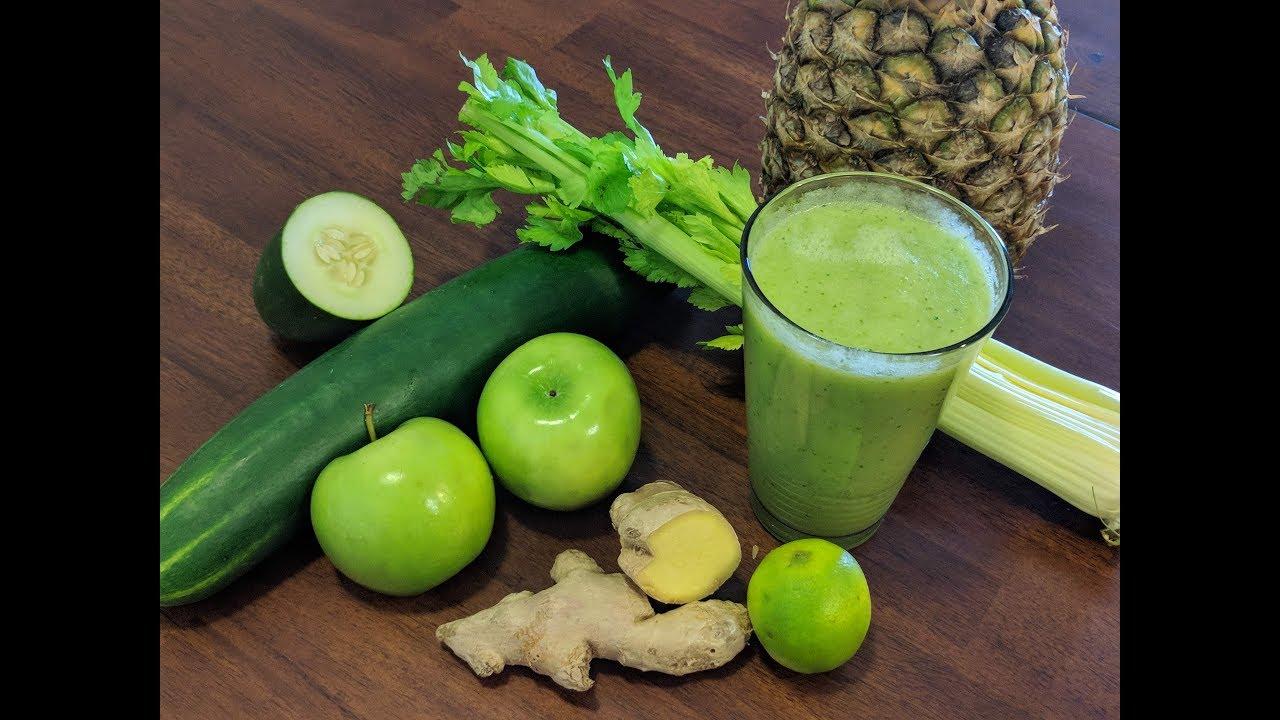 jugo verde para adelgazar en 3 dias