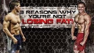 3 Reasons Why You're Not Losing Fat!
