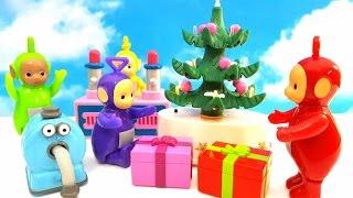 TELETUBISIE i Swieta bozego narodzenia. Zobaczcie jakie prezenty dostana Teletubisie od mikolaja