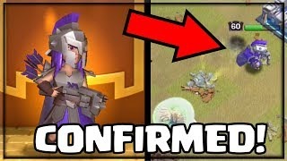 WORLD FIRST - GLADIATOR ARCHER QUEEN GAMEPLAY! Clash of Clans New Archer Queen Skin Confirmed!