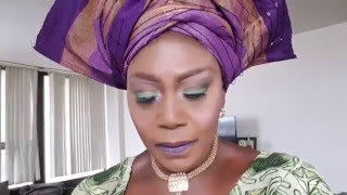 Download Video How to tie Nigeria Gele Abeti Aja /how to tie Iro MP3 3GP MP4