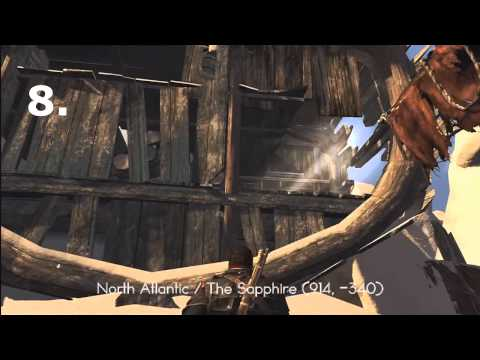 Assassin's Creed: Rogue - All Templar Maps Locations [1-12]