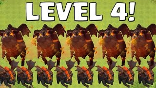 LAVAHUND LEVEL 4! || CLASH OF CLANS || Let's Play CoC [Android iOS ]