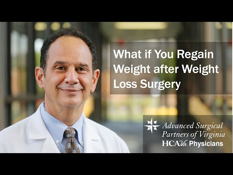 What if You Regain Weight after Weight Loss Surgery Parham Doctors' Hospital