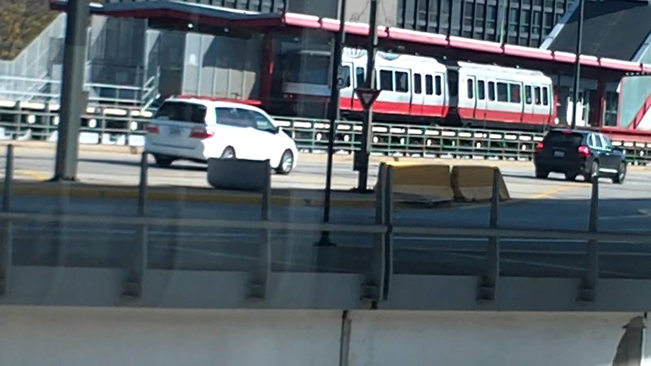 Chicago O Hare Airport Transit System Train Youtube