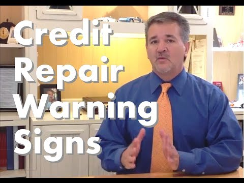 Credit Repair Reviews and my Top 10 Credit Repair Warning Signs