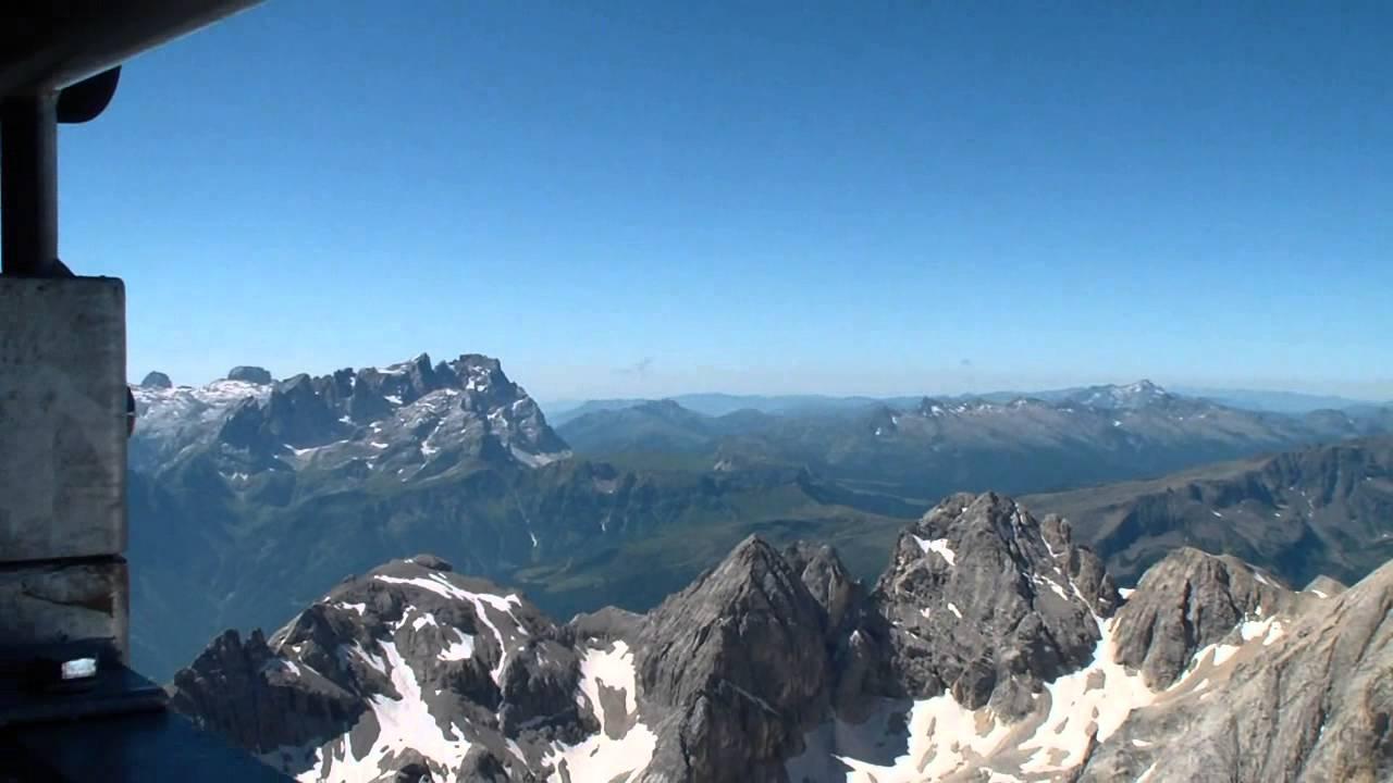 Marmolada Dolomiti  Terrazza panoramica a Punta Rocca 3