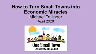 How to turn small towns into economic miracles - Michael Tellinger - One Small Town - UBUNTU Planet