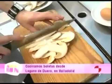 Como Cocinar Boletus Frescos | Receta Boletus Al Ajillo Youtube