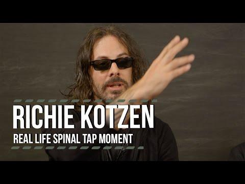 Richie Kotzen's Real Life 'Spinal Tap' Moment