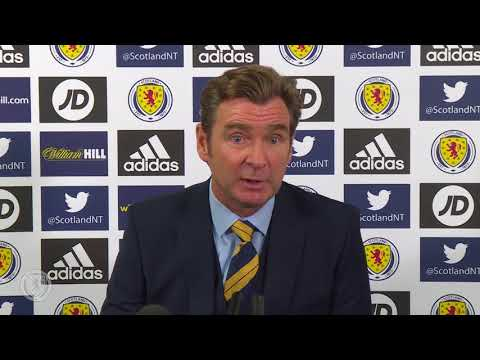Peter Grant Press Conference | Scotland v Belgium & Albania