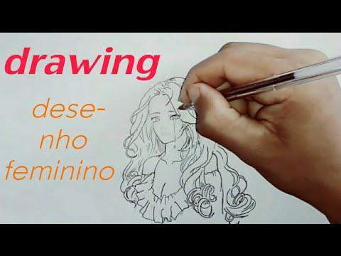 Tracos De Uma Mulher Triste Desenho Youtube