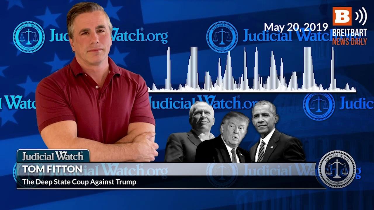 Judicial Watch Tom Fitton: Obama CIA Chief John Brennan was 'Key Ringleader of Cabal' agai