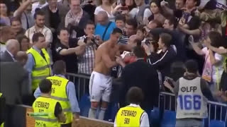 Greatest Football Players Giving Shirt to Fans | Soccer Compilation Full HD