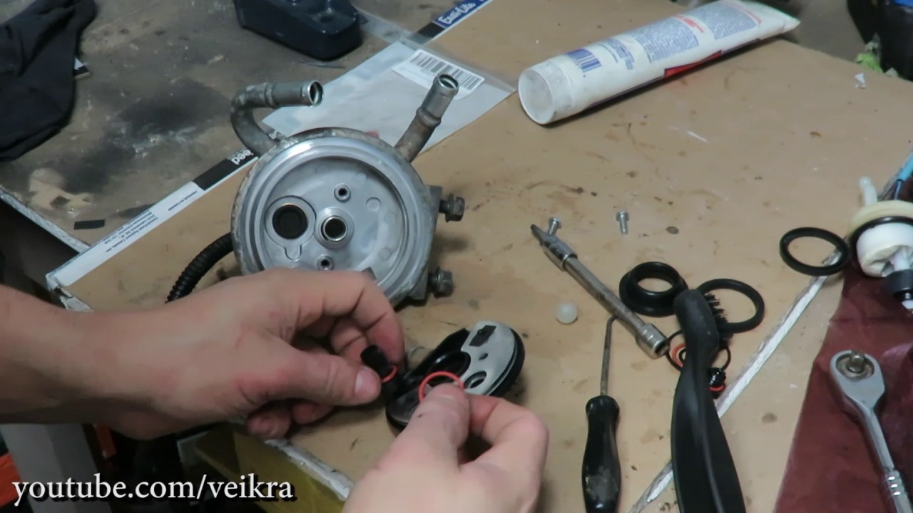 Duramax Fuel Filter Housing Leaking Wiring Diagram Repair Kit Rebuild Youtubeduramax