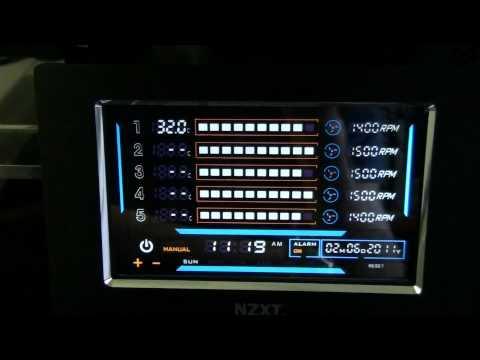 Sentry Lxe Fan Controller Nzxt Sentry Lxe Fan Controller
