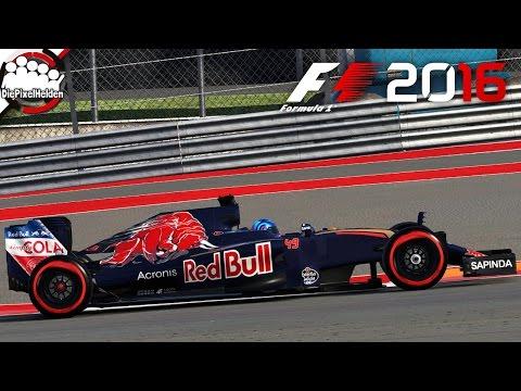 F1 2016 #37 - El Toro ist in Texas los - Let's Play F1 2016 Karriere