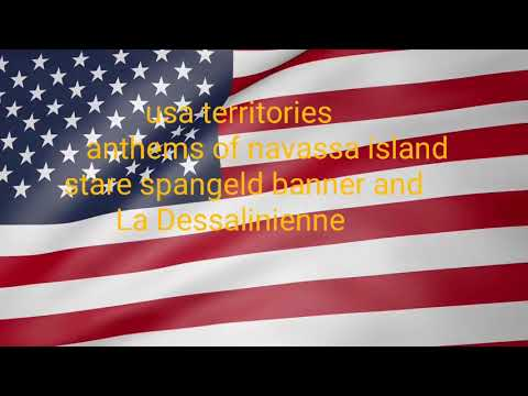 Usa territories anthem of navassa island