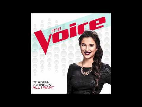Deanna Johnson  All I Want The Voice Performance  Single