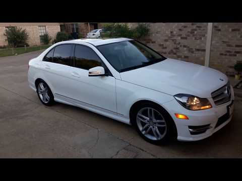 2013 Mercedes Benz C250 Start up Engine and full tour