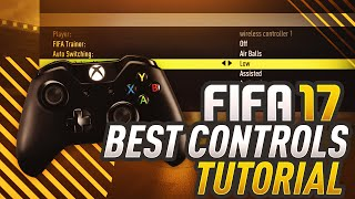 FIFA 17 TUTORIAL | BEST CONTROLS, CAMERA ANGLES, & GAMEPLAY SETTINGS (MY) ULTIMATE FIFA 17 GUIDE!