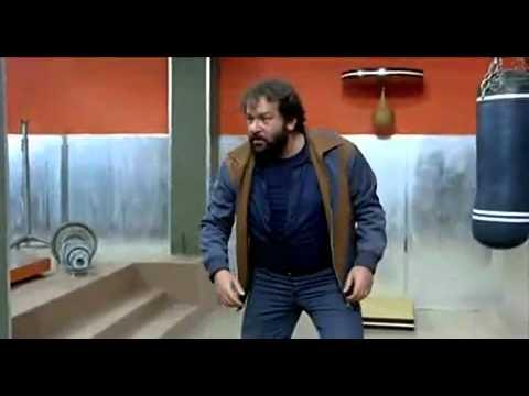 Altrimenti ci arrabbiamo scena epica in palestra con Bud Spencer e Terence Hill