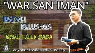 IBADAH KELUARGA | RABU 1 JULI 2020 | GKJW JEMAAT GENTENG