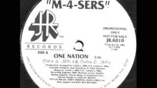M-4-Sers - One Nation