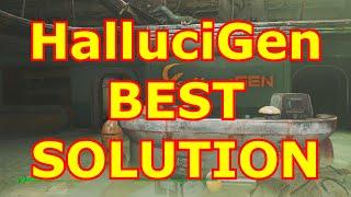 THE BEST SOLUTION - HALLUGEN, INC. QUEST - FALLOUT 4