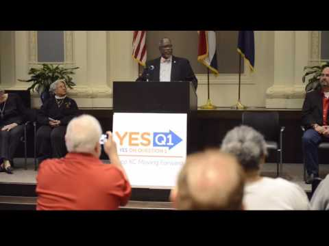 Kansas City Mayor Sly James Announced The 2016 Earnings Tax Campaign