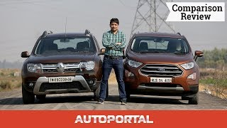 Renault Duster Vs Ford EcoSport Comparison Review- Auto Portal