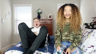 BOYFRIEND EXPERIENCES THE PAIN OF GIVING BIRTH !!