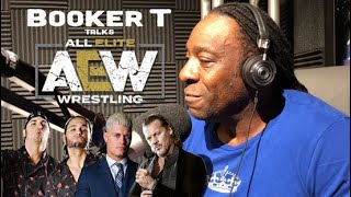 Booker T Talks All Elite Wrestling & Y2J Signing