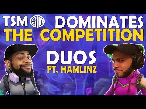TSM DOMINATES THE COMPETITION   DAEQUAN & HAMLINZ DUO - (Fortnite Battle Royale)