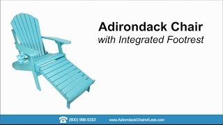 How To: Assemble an Adirondack Chair
