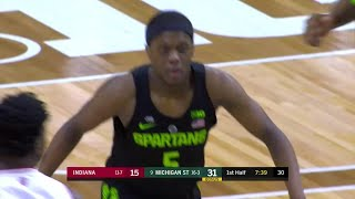 Winston Hits Bridges for the Alley Oop vs. Indiana