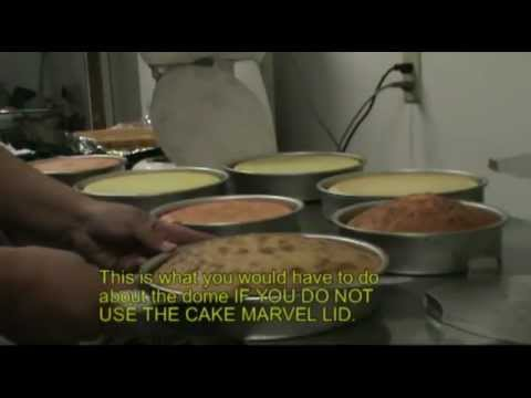 How to bake a perfect flat top level cake with the Cake Marvel Cake