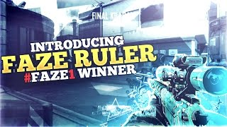 #FAZE1 Winner: Introducing FaZe Ruler by FaZe Barker