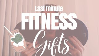 10 last minute gift ideas for someone who is starting a healthy lifestyle | day of fitmas