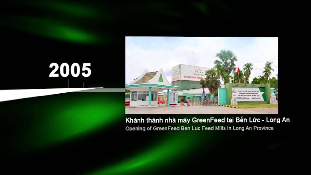 Lịch sử phát triển GreenFeed Việt Nam