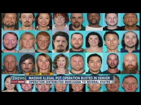 Massive drug running operation busted in Denver