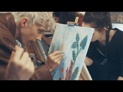Troye Sivan Surprises Fans With BLOOM Art Class