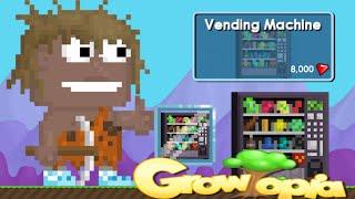 Growtopia- Buying a Vending Machine!