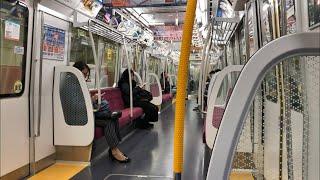 【日立新型VVVF】都営12-600形12-691F(3次車)走行音 / Toei-Subway 12-600 sound
