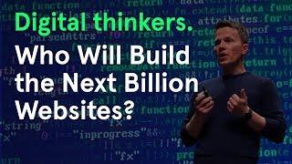 Who will build the next billion websites? | Webflow CEO Vlad Magdalin | Awwwards Conference San Fran
